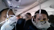 College Professor Takes Selfie During Emergency Landing