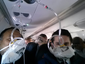 Georgetown Professor Snaps Selfie, Live Tweets a Flight's Emergency Landing [Images]