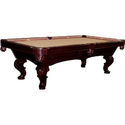 Empire USA Signature Series The Northman Pool Table with 1-Inch Slate Top: Sports & Outdoors