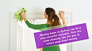 End of lease cleaning tips for your home
