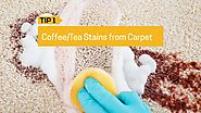 Tips to Deep-Clean Coffee/Tea Stains