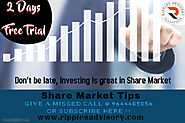Follow us on Facebook for Share Market Tips