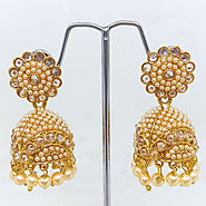 Latest Indian Fashion Traditional Bollywood Style Earring - Run Way Fashions