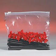 Poly Bags Clear Slide Seal Top