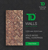 Attractive Wooden Wall Panels for Home Decor