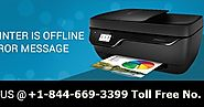 HP Wireless Printer Offline Support +1-844-669-3399