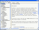 WikidPad - wiki notebook for Windows