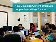How DeveloperOnRent Empowers the People that Delivers for You
