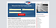 Missouri Background Check