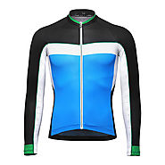 Breathable Men's Long Sleeve Cycling Jersey - Wholesale - Buy Cycling Clothing ,Accessories and Gear on lotshell.com