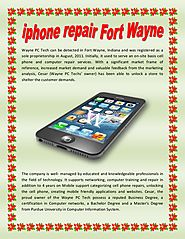 Iphone repair fort wayne