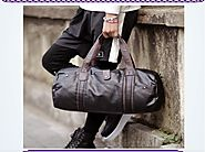 Weekender Bag for Men | Leather Bags and Briefcases For Men