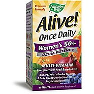 Nature's Way Alive Once Daily Women's 50+ Ultra Potency Multivitamin - 60 Tablets