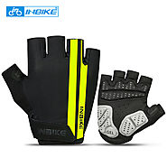Gel Pad ShockProof Non-slip Half Finger Cycling Gloves - Wholesale - Buy Cycling Clothing ,Accessories and Gear on lo...