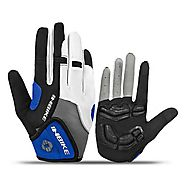 GEL Padded Shockproof Full Finger Cycling Gloves - Wholesale - Buy Cycling Clothing ,Accessories and Gear on lotshell...