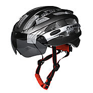 Bike Helmet with Detachable Magnetic Goggles - Wholesale - Buy Cycling Clothing ,Accessories and Gear on lotshell.com