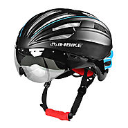 Pneumatic Double Layer Bike Helmet with Goggles - Wholesale - Buy Cycling Clothing ,Accessories and Gear on lotshell.com