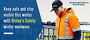 Keep Safe and Stay Visible this Winter with Bisley's Safety Winter Workwear