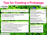 Tips for Creating a Protopage
