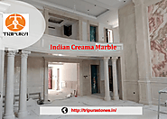 Indian Creama White Marble in India Supplier of White Marble