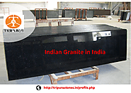 Indian Granite in Indian Supplier of Black Galaxy Tripura Stones
