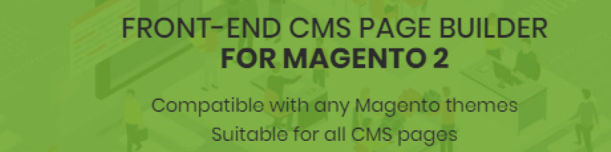 Headline for Frontend CMS Page BuiLd For Magento 2