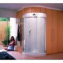 Matki Original Radiance curved corner enclosure - with shower tray
