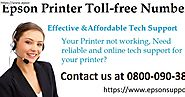 Epson Printer Tech Support in UK – Revolutionary Help Access with Great Ease