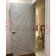 Laminate bedroom door