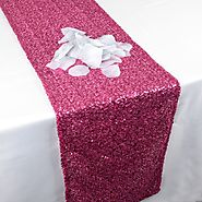 Shop Beautiful Color Sequin Table Runner Online