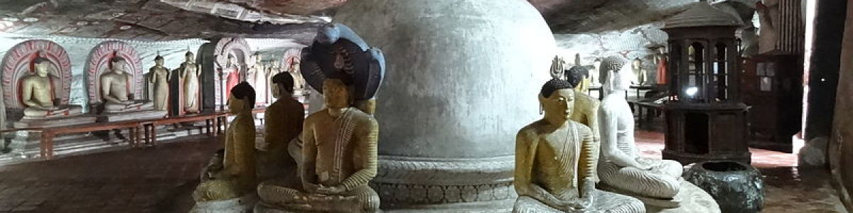Headline for 06 Facts About the Amazing Dambulla Cave Temple – Ancient Heritage