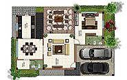 3BHK West Facing Villas in Coimbatore - Nest Habitation