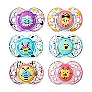Tommee Tippee Fun Orthodontic Pacifiers