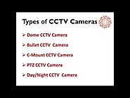 Various CCTV Cameras & Specifications