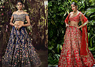 Shyamal and Bhumika Showcasing Their Bridal Collection At Vogue Wedding Show 2018