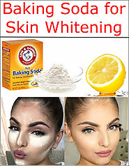 Baking Soda for Skin Whitening | Baking Soda Uses and DIY Home Remedies.