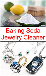 Baking Soda Jewelry Cleaner | Baking Soda Uses and DIY Home Remedies.