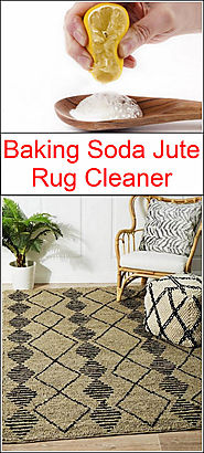 Baking Soda Jute Rug Cleaner | Baking Soda Uses and DIY Home Remedies.