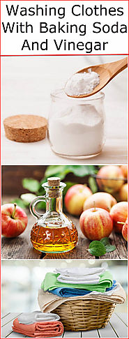 Washing Clothes With Baking Soda And Vinegar | Baking Soda Uses and DIY Home Remedies.