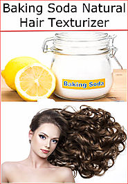 Baking Soda Natural Hair Texturizer | Baking Soda Uses and DIY Home Remedies.