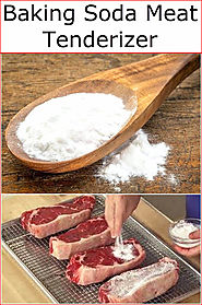 Baking Soda Meat Tenderizer | Baking Soda Uses and DIY Home Remedies.