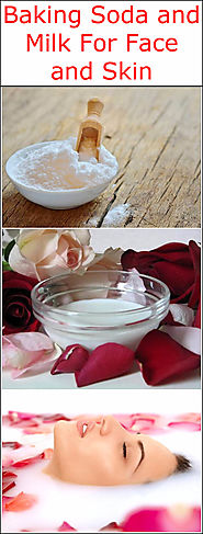 Baking Soda and Milk For Face and Skin | Baking Soda Uses and DIY Home Remedies.