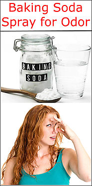 Baking Soda Spray for Odor | Baking Soda Uses and DIY Home Remedies.
