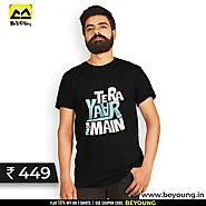 Shop Exclusive Designs of T-shirts for Men Online