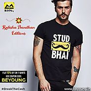Brand New Rakhi Collection of T-shirts for Men-Beyoung