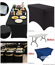Top 10 Best  Fitted Spandex Table Covers Reviews 2018-2019 on Flipboard