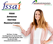 FSSAI Approved Enzymes - Enzymes Manufacturer and Supplier - Advanced Enzymes