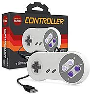 Tomee SNES USB Controller for PC & Mac