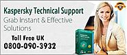 Solve All Your Kaspersky Antivirus Troubles with Kaspersky Customer Support UK – Kaspersky Customer Support Phone 080...