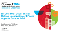 Uno! Deux! Three! Making Localization of XPages as Easy as 1-2-3